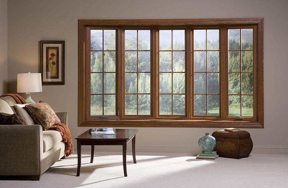 Французский тип деревянных окон