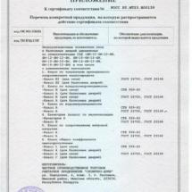 Сертификат Словечно