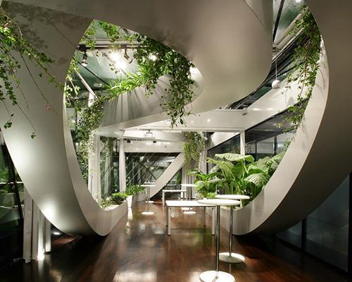 Дизайн зимнего сада Хай-тек