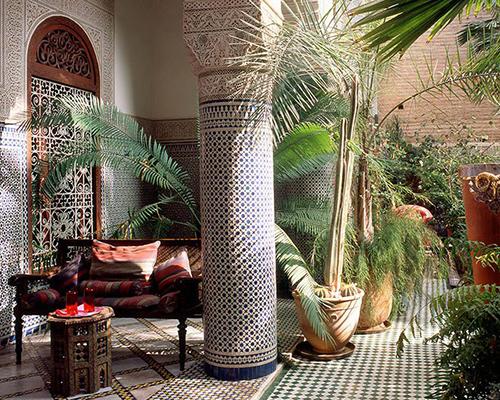 Дизайн зимнего сада - Средиземноморский стиль